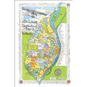 St. Louis Neighborhood Map (9781929687060) Inc. Big Stick