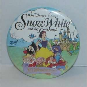 2.5 Disney Snow White and the Seven Dwarfs 50th