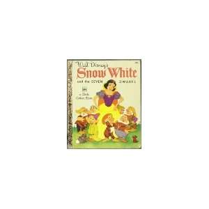 Walt Disneys Snow White and the seven dwarfs (Little, little golden