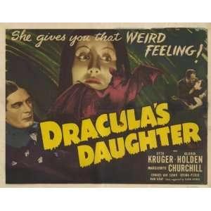 Draculas Daughter   Movie Poster   11 x 17