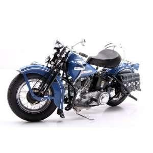 1948 Harley Davidson Panhead Azure Blue  Toys & Games