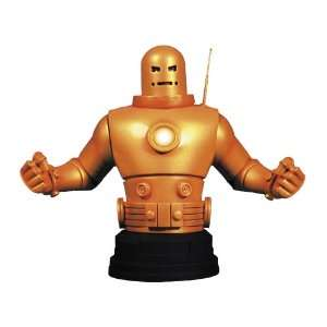 Gentle Giant Studios Iron Man Mark II (Gold Armor) Mini Bust  Toys