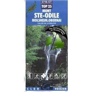 Ste Odile, Molsheim, Obernai ~ IGN Top 25 3716ET (The Outstanding All
