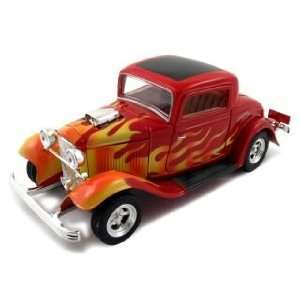 1932 Ford Coupe American Graffiti Diecast Car Model 1/24