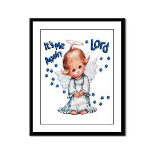 Framed Panel Print Its Me Again Lord Prayer Angel