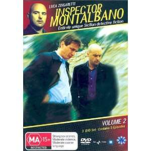 Inspector Montalbano Vol. 2   3 DVD Set ( Il Commissario