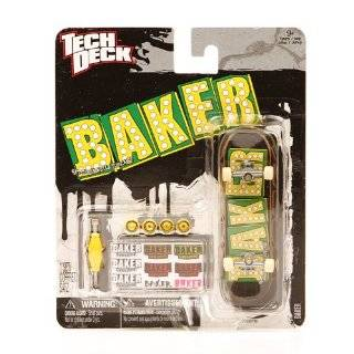 Tech Deck Fingerboard Baker Logo Shake Junt: Explore
