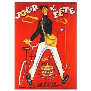 Jour de Fete Movie Poster, 19.7 x 27.5 (1949): Home