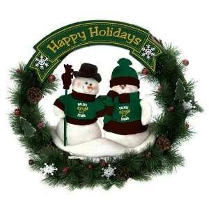 Dallas Stars NHL Snowman Christmas Wreath (20)