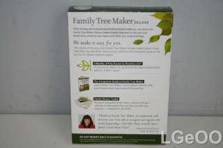 New Family Tree Maker Deluxe 2012 (727298413908)