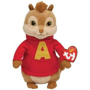 Ty Beanie Baby Alvin And The Chipmunks   Alvin Plush Toy: .co.uk