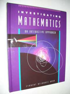 McGraw Hill Mathematics Textbook MATH 9th Grade 9 (9780675131605