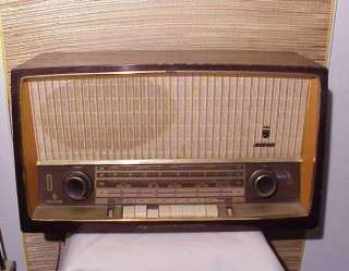 Grundig Majestic 3160 antique tube radio