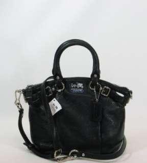 Coach Madison Leather Mini Sophia 18625 (SV/Black)  Shoes