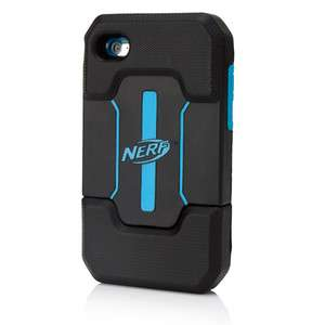 iPod Touch 4G Nerf Armor Case (PDP) IP 1337 BLACK/BLUE (708056513375
