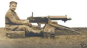 WW1 German Maxim MG08/15 Machine Gun (B)