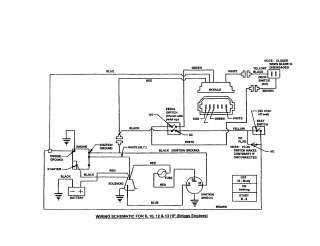 36722533_snapper rear engine rider parts model 331518kve yazoo wiring diagram wiring diagram and schematic wiring diagram for rear engine snapper mower at bakdesigns.co