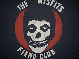 09 Junk Food The Misfits Fiend Club T Shirt Men Small