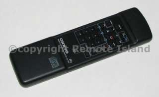 Onkyo RC 239C (NEW) CD&TAPE Remote Control DX DXC TA TARW FAST$