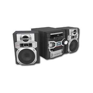 RCA RS2764 300W AM/FM 5 CD Shelf Stereo System Electronics