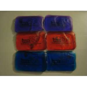 6 Reusable Heat Packs Gel Pads Hand Warmer Bag Large