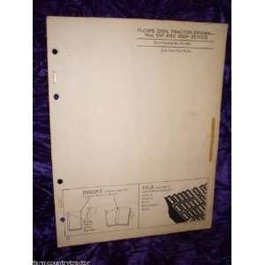 John Deere 500/500H Disk Plows OEM Parts Manual John Deere Books