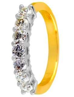18ct Gold 0.75ct Diamond Eternity Ring  Diamond Rings  Goldsmiths