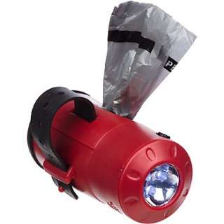 Lawn Care Natures Miracle Flashlight Dog Pick Up Bag Dispenser & Bags