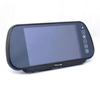 7inch TFT Rearview Color Screen LCD Car Mirror Monitor