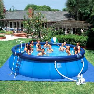 Sun 18 x 48 Easy Set Swimming Pool with Accessories Outdoor Play