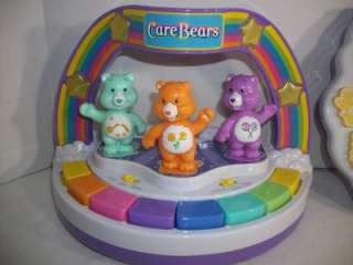 Care Bears Musical Lights Piano & Learning Book Toddler Toys
