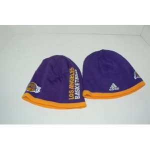 adidas Los Angeles Lakers Purple Official Team Knit Beanie