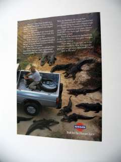 Nissan Hardbody 4x4 CST Gator Farm Truck 1989 print Ad