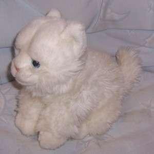 ANIMAL ALLEY WHITE KITTY CAT 9