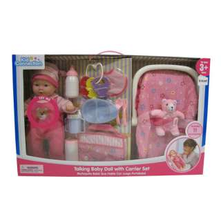 Kid Connection Baby Doll with Carrier Set