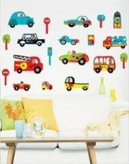Bus & Car Art Decor vinyl Wall Paper Sticker Decal 153