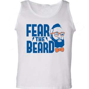 BEARD James Harden OKC shirt THUNDER Oklahoma City basketball Tank Top