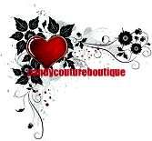 15 WATER SLIDE NAIL ART DECALS RED HEART CORNER TIP