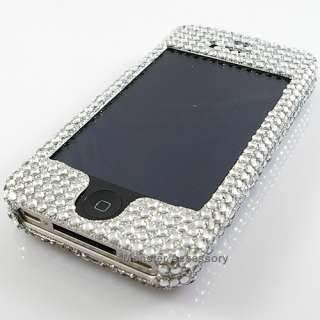 The Apple iPhone 4 4G Dolphin Diamond Bling Case provides the maximum