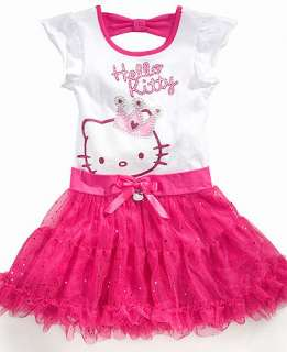 Hello Kitty Kids Dress, Little Girls Tutu Dress   Kidss