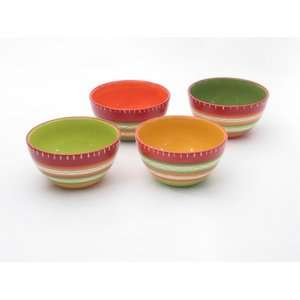 International Hot Tamale Ice Cream Bowls (Set of 4) Kitchen & Dining