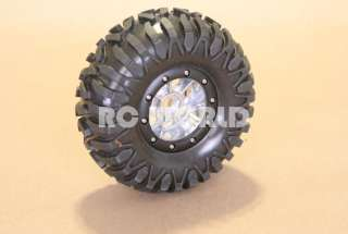 RC TRUCK ROCK CRAWLER ALUMINUM WHEELS 2.2 BEADLOCK