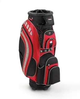 New 2012 Bag Boy BagBoy Golf Revolver XL Cart Bag   Red/Black/Silver