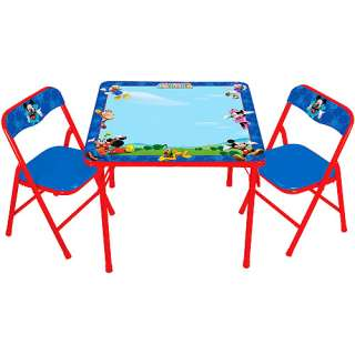 Disney   Mickey Mouse Club House Erasable Activity Table