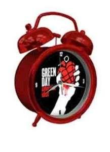 GREEN DAY AMERICAN IDIOT TWIN BELL ALARM CLOCK