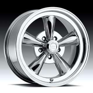 15X7 Vision 15 Chrome Wheels Rims Chevy Camaro Chevelle Nova