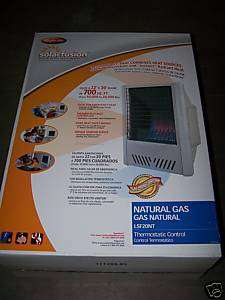 New Comfort Glow Vent Free Gas Space Wall Heater 20K
