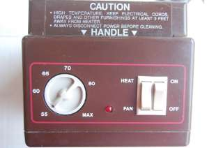 Rain 1500w 5200 BTU Original Ceramic Disc Furnace Fan Heater