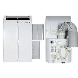 SHARP CA portátil de ion de aire acondicionado de 10000 BTU 110V
