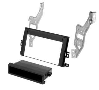 Double Din Stereo Radio Install Mount Dash Kit w/Pocket